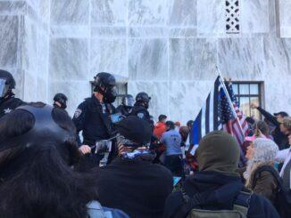 Patriot Protest in Salem, Oregon