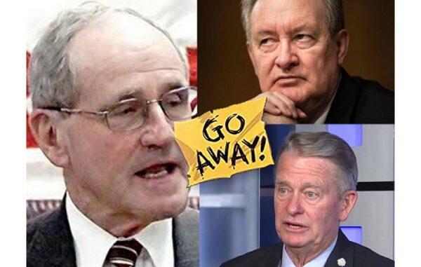 Condemning Idaho RINOs Little, Crapo & Risch