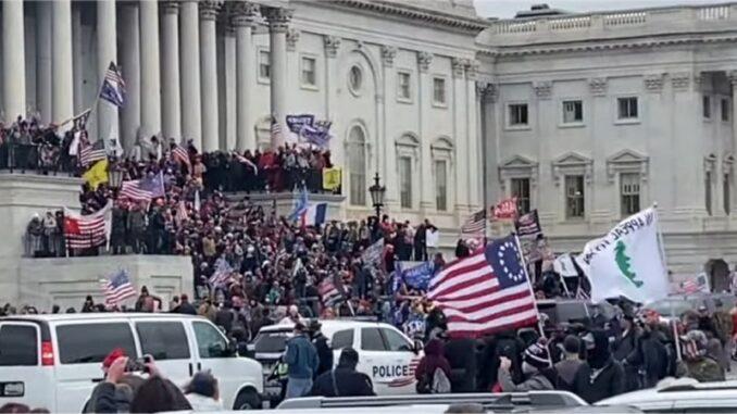 """Republicans Lead 2021 """"Boston Massacre"""" on Capitol Hill"""