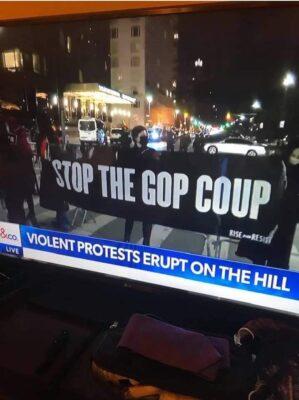 Antifa Storms The US Capital