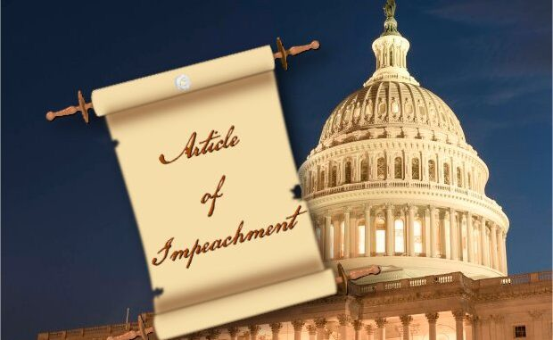 Article of Impeachment – Incitement of Insurrection
