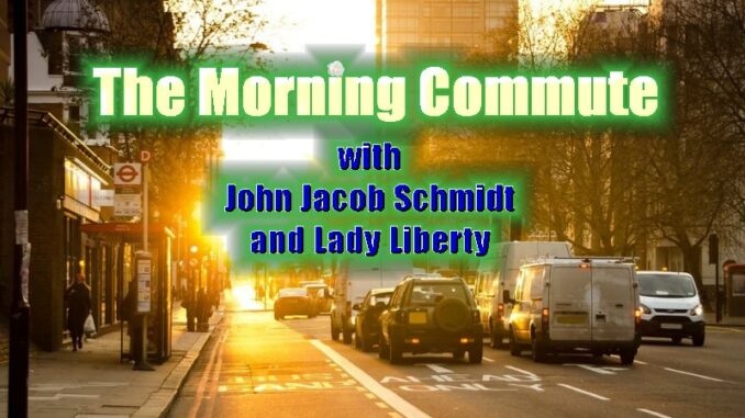 Morning Commute - John Jacob Schmidt & Lady Liberty 2/17