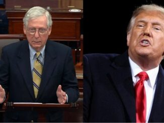 President Trump Gives Statement on Mitch McConnell