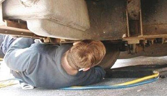 Illegal to Work on Your Own Car in Your Own Garage