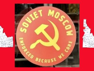 Prosecuted For Sharing Stickers in Soviet Moscow, Idaho