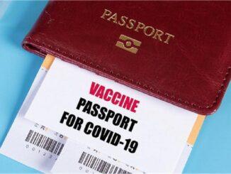 Vaccine Passport - segregation Your Travel Papers