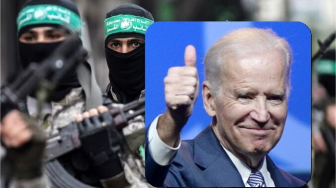 Biden Administration Directly Aiding & Abetting Hamas Terrorists