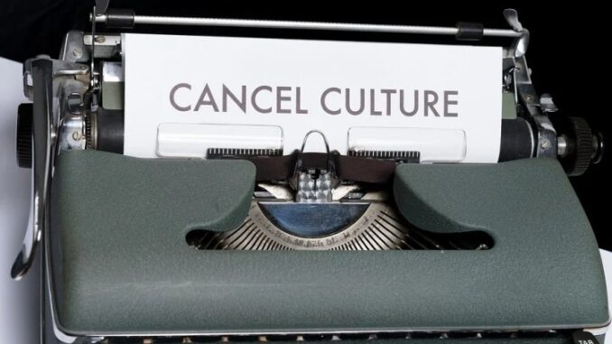 "Backlash Intensifies Against Leftist ""Cancel Culture"""