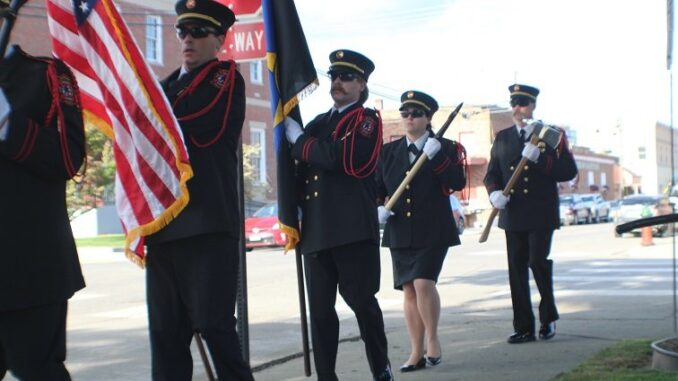 Boundary County Ceremony For Fallen Law Enforcement Officers