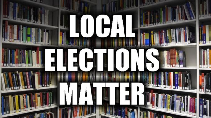 Library Board: An Attention-Grabbing Election