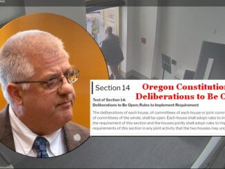 First Sitting Lawmaker To Be Expelled in Oregon
