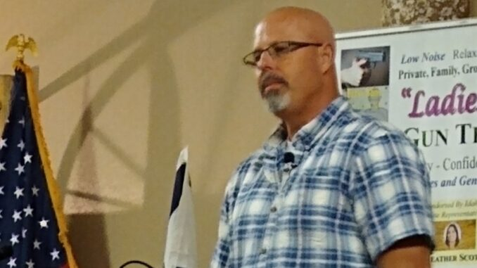 Todd Engel Speaking At The Cocolalla Cowboy Church
