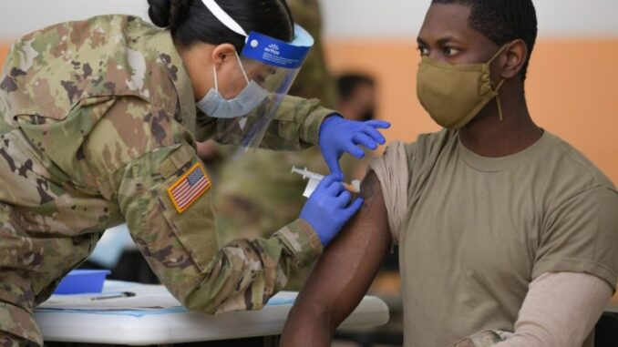 Army Regulations Allow for Antibodies Exemption