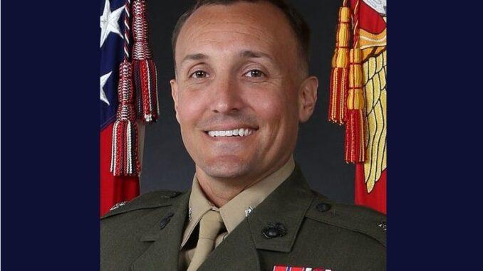 Marine Lieutenant Colonel Stuart Scheller