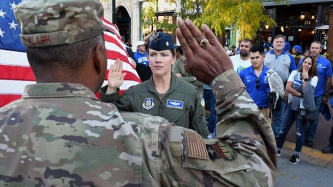 U.S. Air Force Promotes Rep. Priscilla Giddings to Lt. Colonel